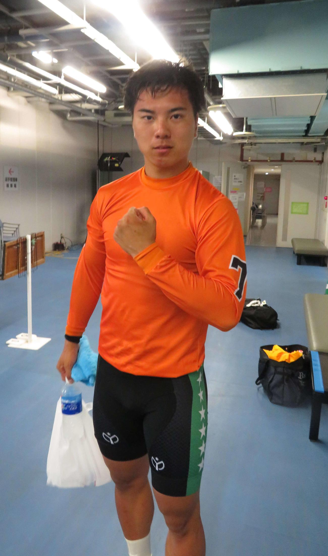 デビュー戦を2周先行で勝利した久田裕也