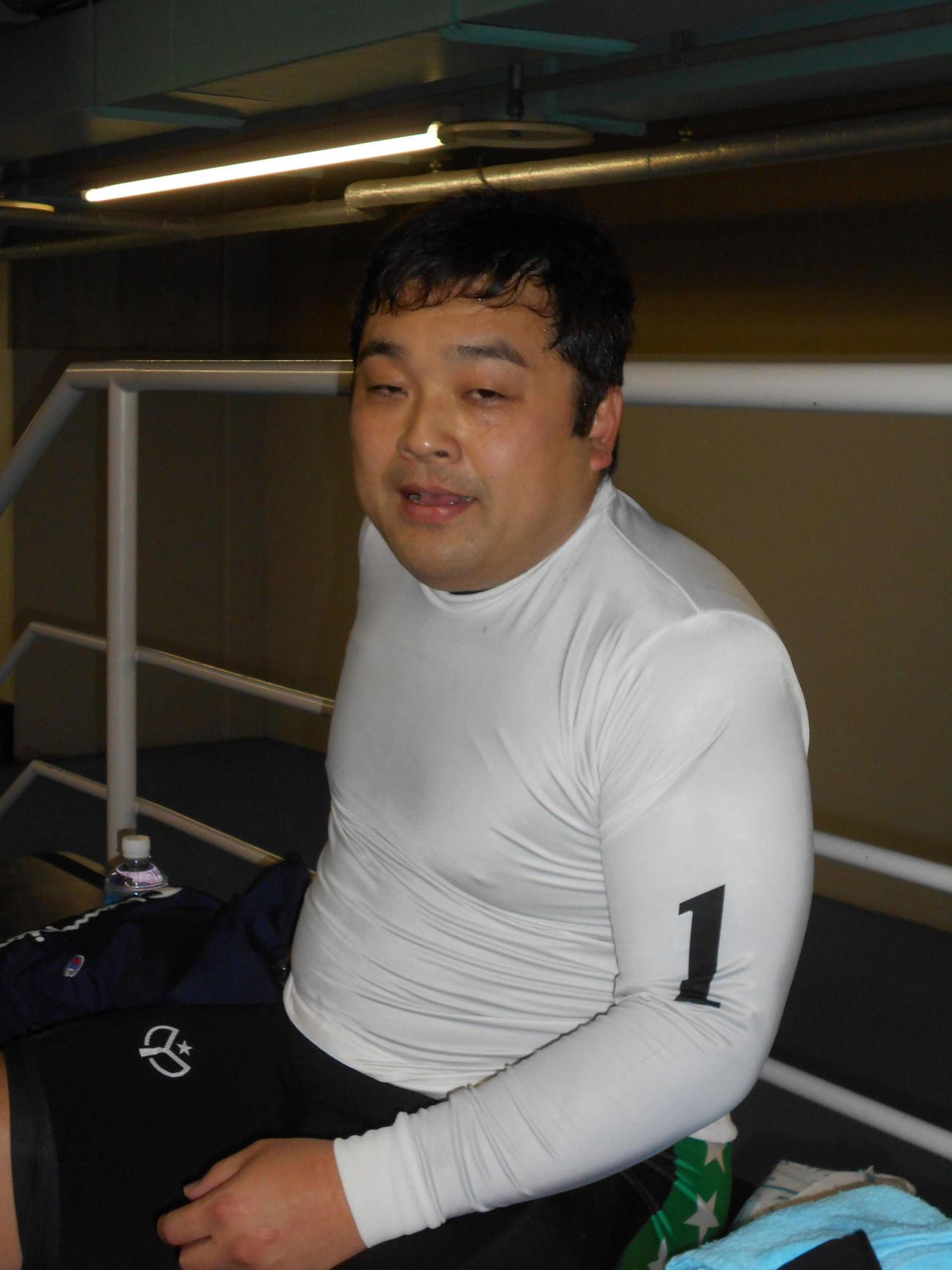 俊敏な立ち回りで今年初勝利を挙げた中野功史