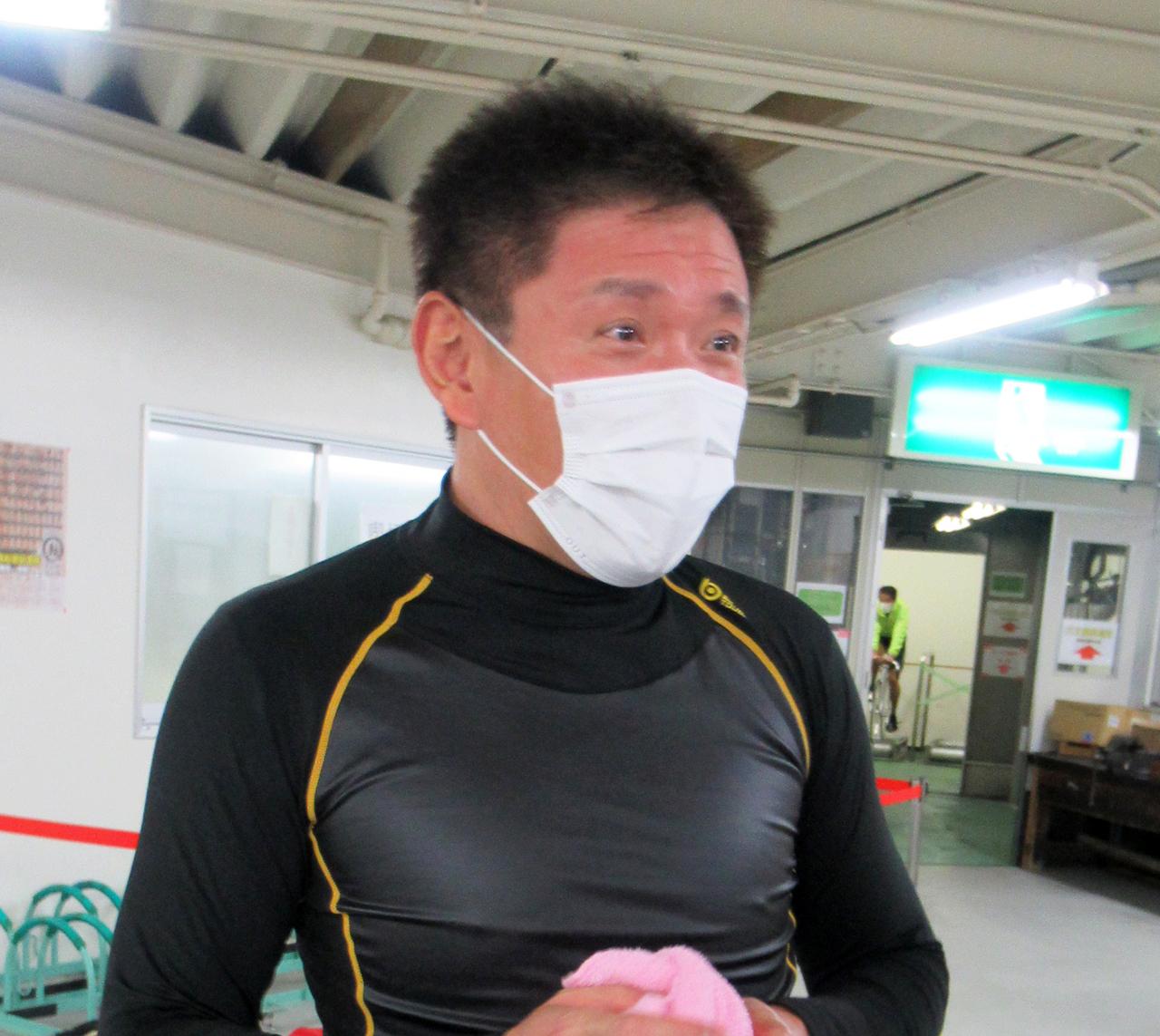 今年初の1着で波乱を演出した小西誠也(撮影・岡田晋)