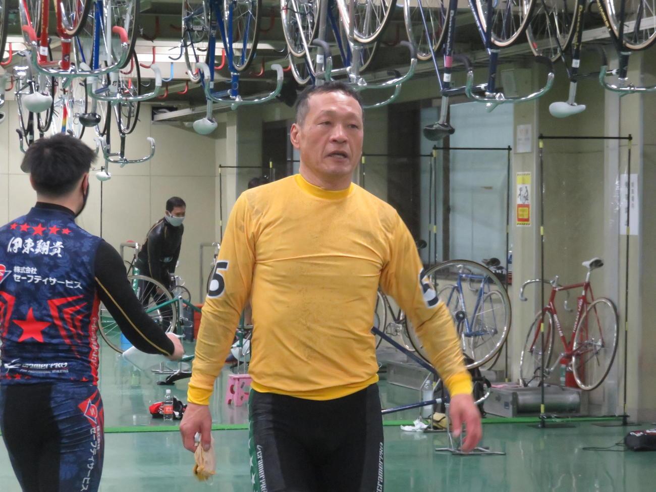 60歳となってから初勝利を挙げた鈴木栄司(撮影・山本幸史)
