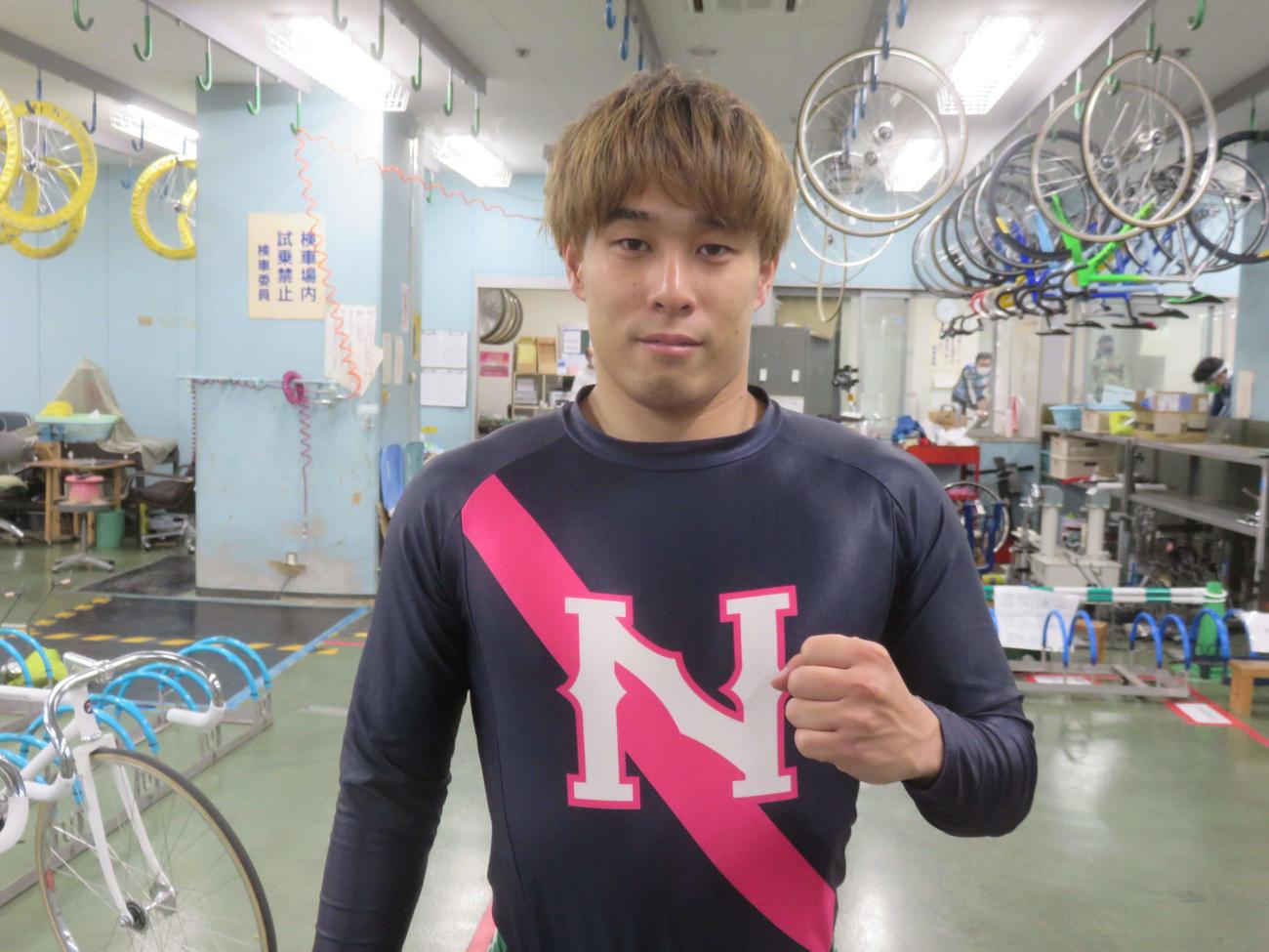 予選を突っ張り先行で快勝した松本一志