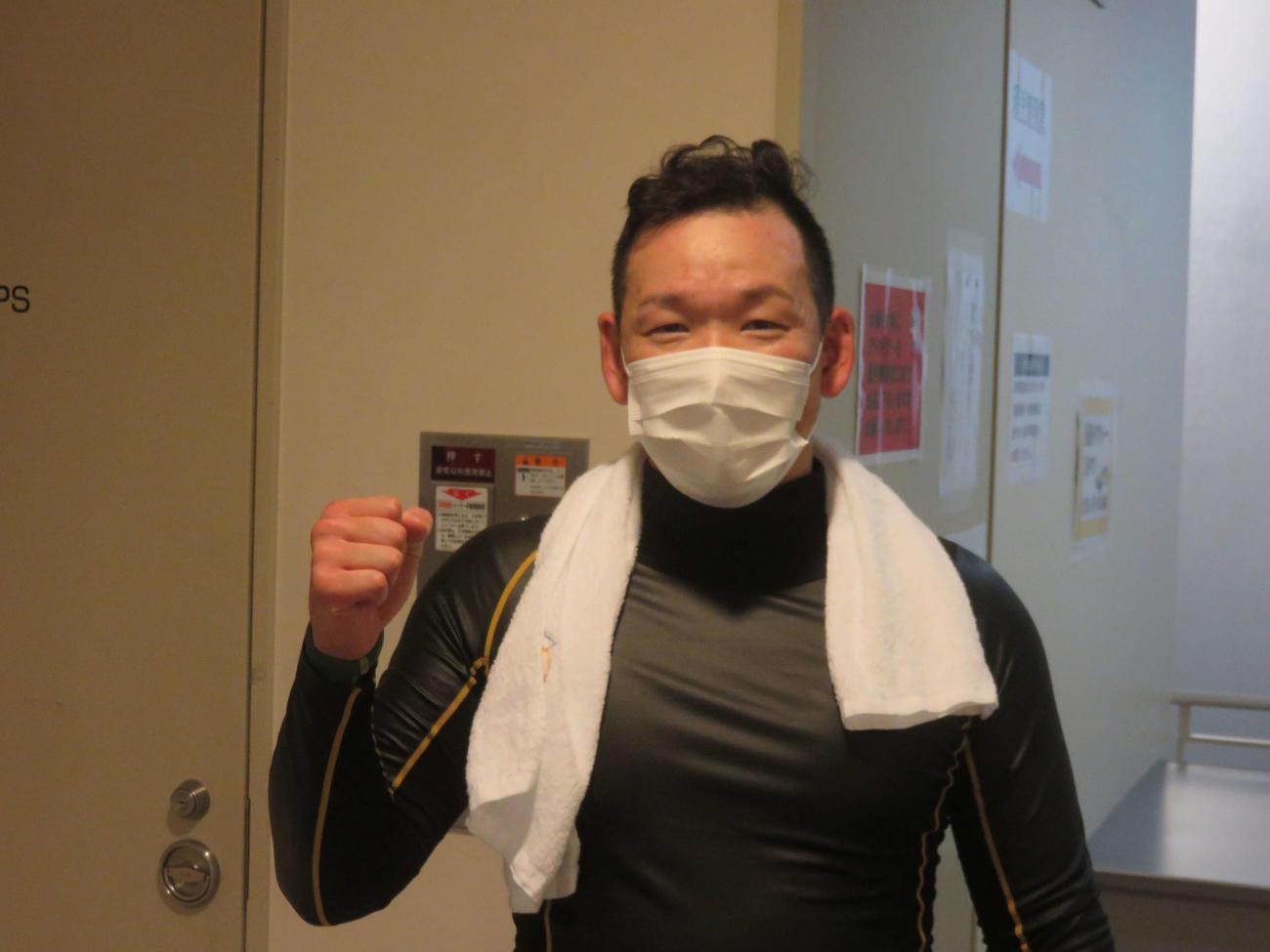 久しぶりのレースで3着に粘り準決進出を決めた田原宥明