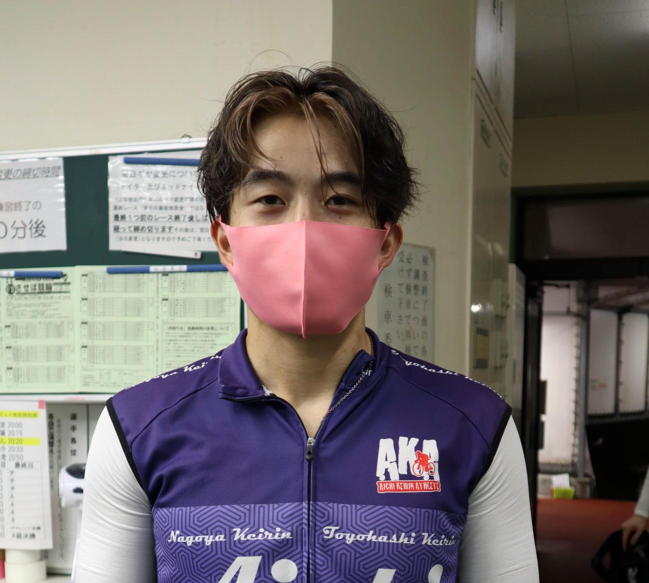 磯村蓮太は予選2R2着で当地の苦い思い出と決別した(撮影・音無剛)