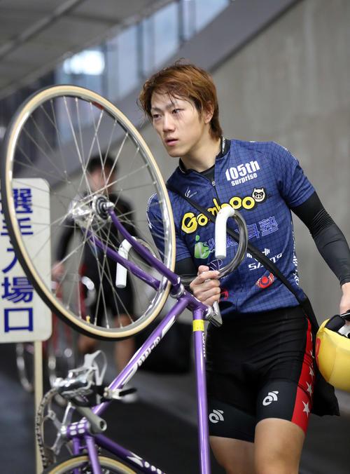 練習を終えた渡辺雄太。ヤマコウは好位が取れたら怖い存在とみた