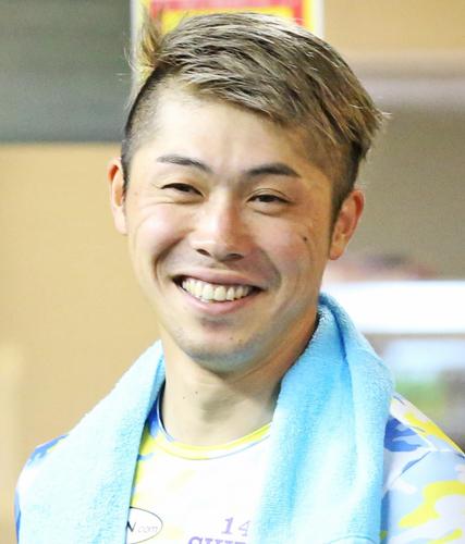 ダイヤモンドレースでヤマコウが注目する柴崎淳(撮影・梅根麻紀)