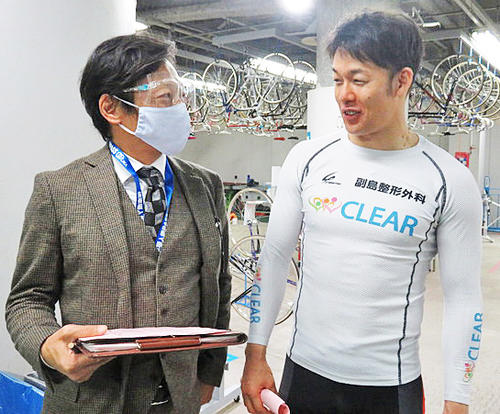 ヤマコウ(左)はGP出場へ正念場の山田英明を推奨