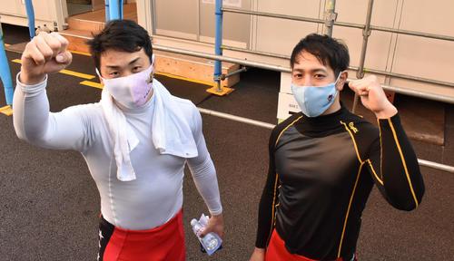 清水裕友(左)の完全復活で松浦悠士との直線勝負の可能性が高まった