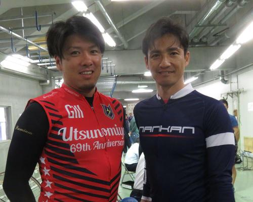 輪界屈指のイケメン兄弟・成清貴之(右)&謙二郎が西武園に同時出走