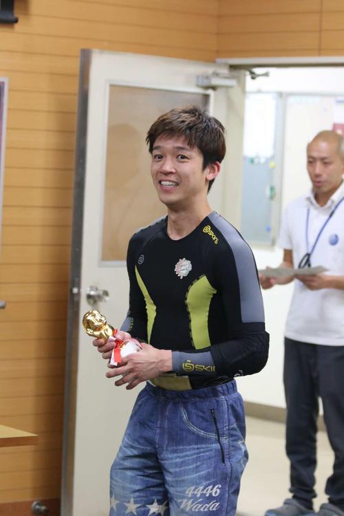 和田兼輔がインから押し切って、今年初優勝&若松初優勝を決めた(撮影・中森亮)
