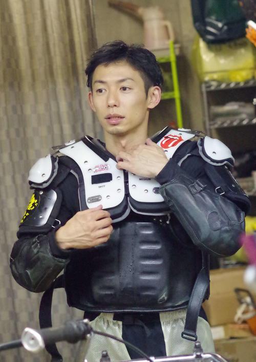 準決9Rを勝った君和田裕二。完全Vに王手だ(撮影・木村重成)