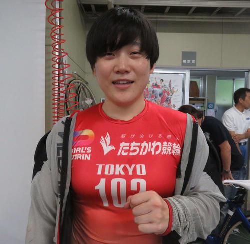 今年初優勝を狙う増茂るるこ(撮影・栗田文人)