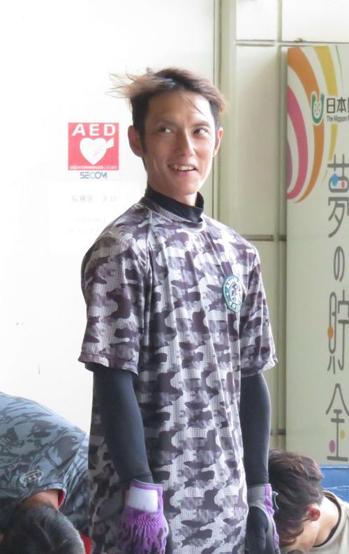 900勝に王手の懸かった芦沢望(撮影・中川純)