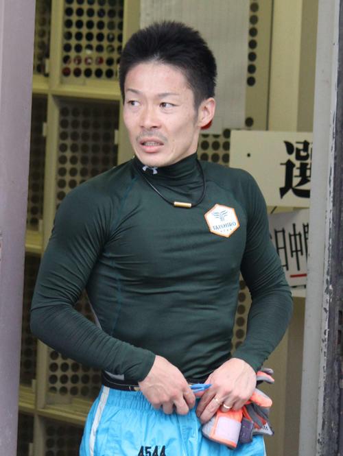 準優10R、松田大志郎がパワーを味方に道中逆転に成功した(撮影・北條直治)