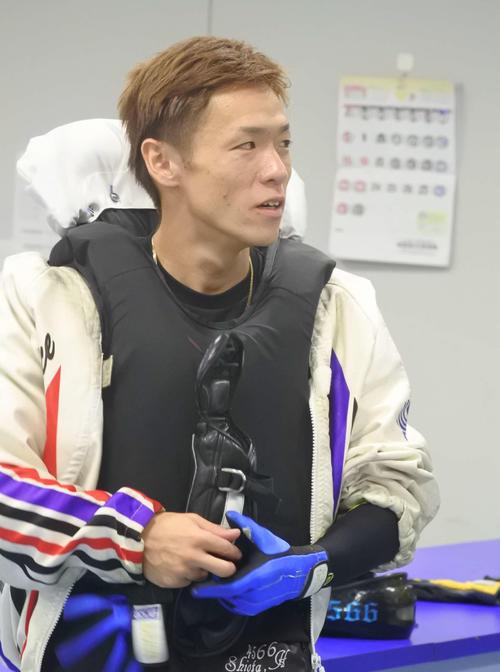 塩田北斗が大幅な気配アップに成功した(撮影・川尻将志)