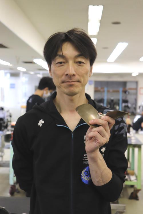 村田修次は「赤岩(善生)君と一緒の節は、前検からよく隣の整備台にいて『やってるね』」と声をかけ合うという(撮影・芹沢誠)