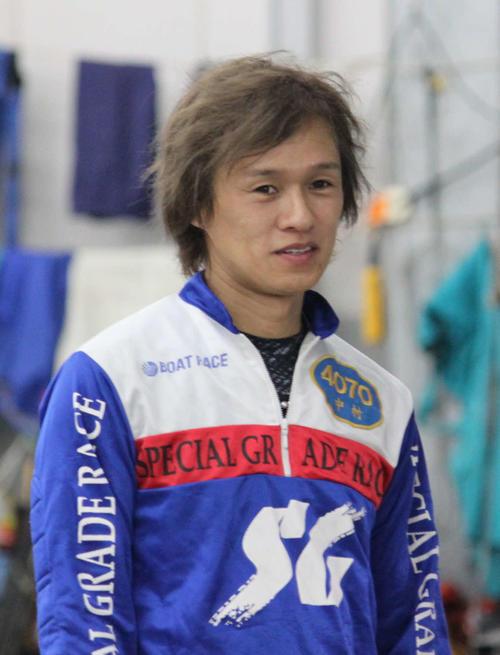 前検で早くも好感触だった中村亮太が連勝発進を目指す