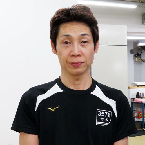 白水勝也が深インを克服して今節初勝利を挙げた(撮影・古村亮)