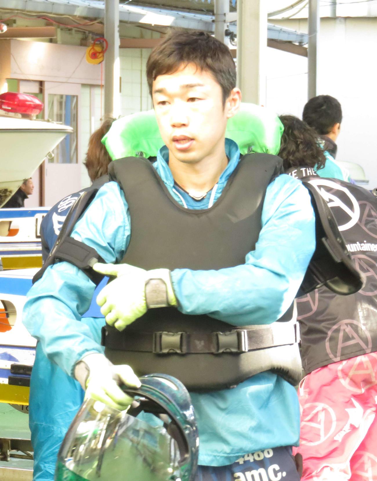 小山勉は連続優勝中の43号機に好感触