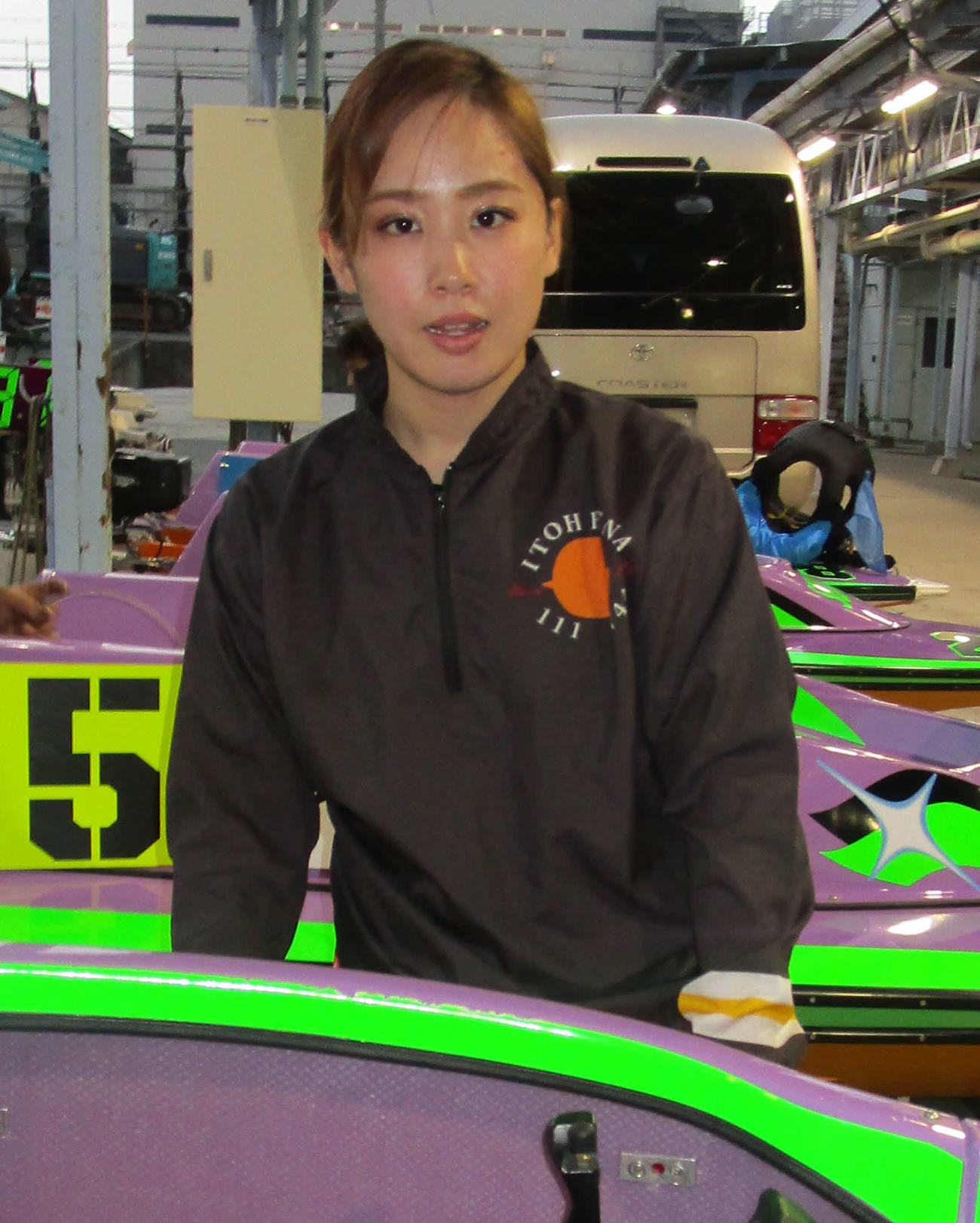 伊藤玲奈が2日目1Rで今節初勝利を飾った(撮影・奈島宏樹)