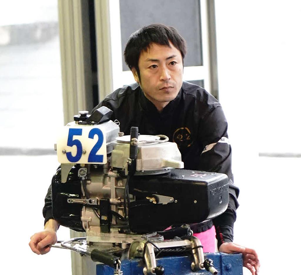 初日2着発進の山口高志が2日目7&11Rの2回乗りでさらなるポイントアップを狙う(撮影・木村重成)