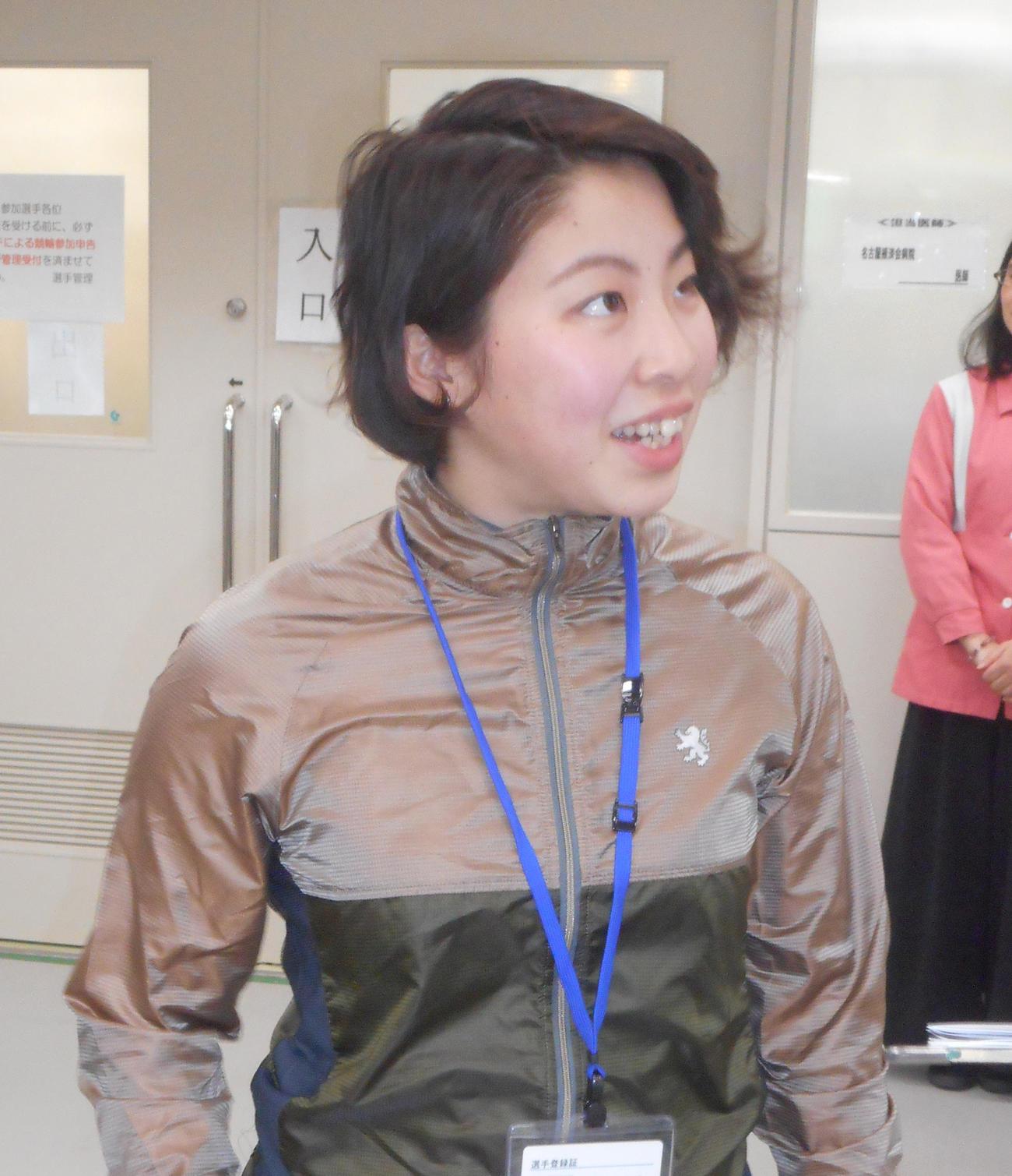 前回和歌山に続く決勝進出を決めた三森彩桜(撮影・岡田晋)