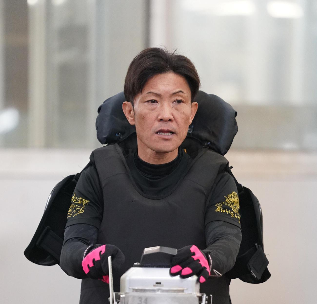 レース中に亡くなった松本勝也さん(2019年12月17日撮影)