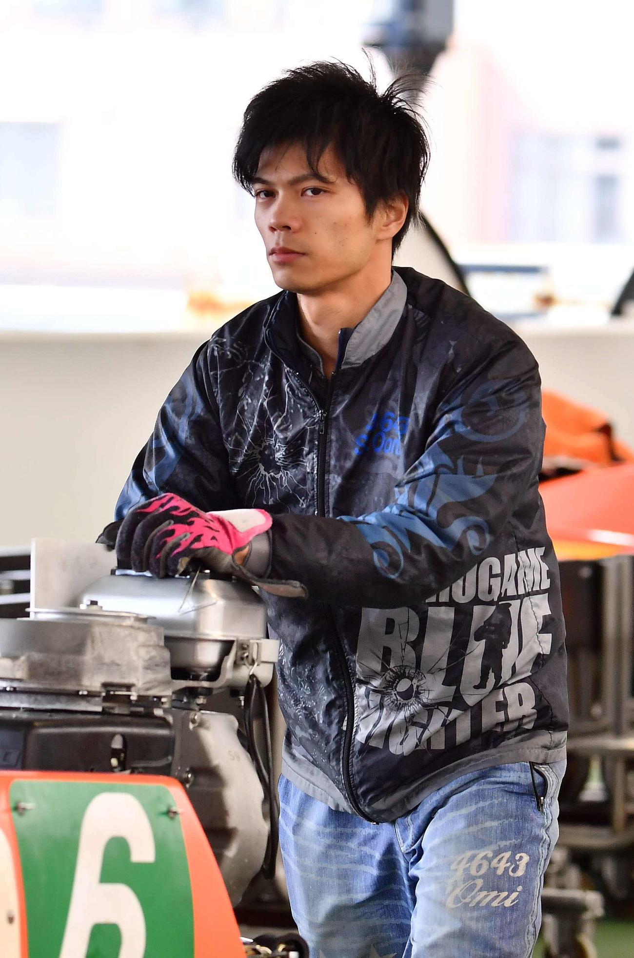 近江翔吾(撮影・上田博志)