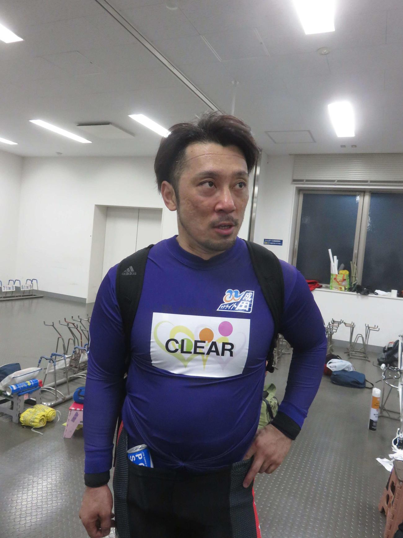 和田健太郎が南関で志佐明を目標に決勝進出を狙う(撮影・中野公博)