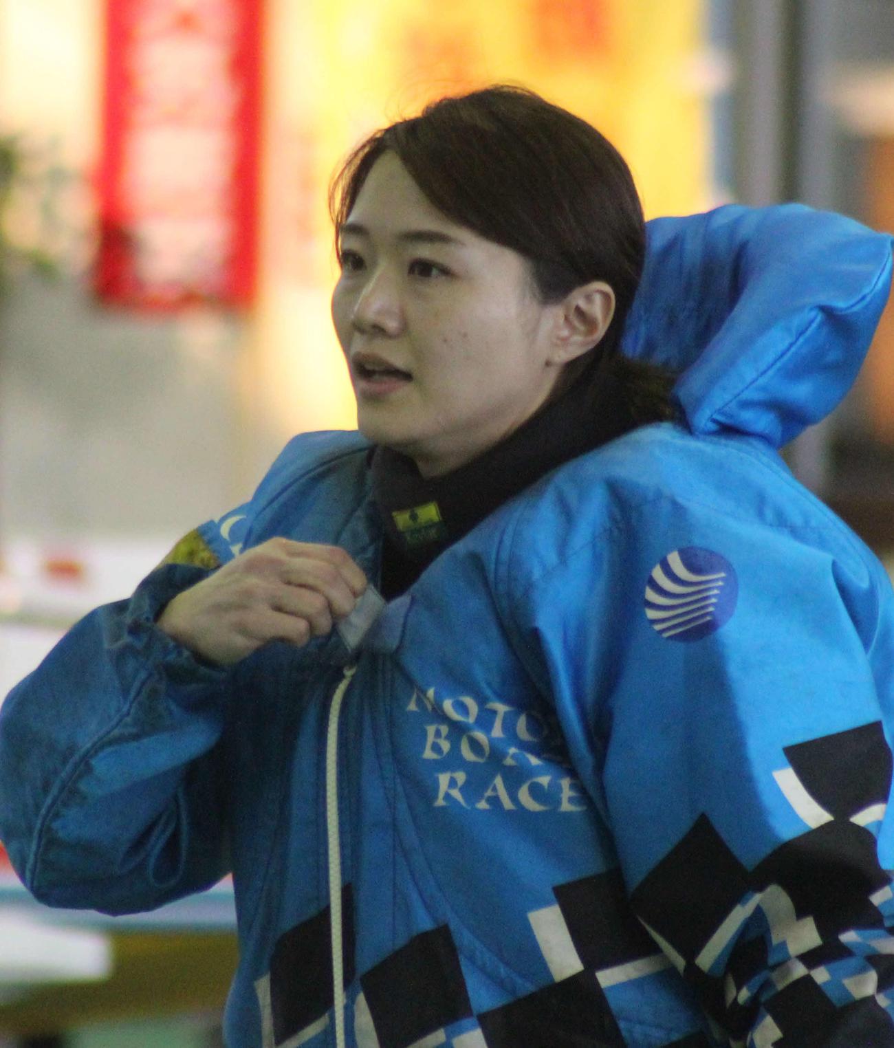 2日目12Rドリームをまくり差しで制した深川麻奈美。初日から3連勝だ