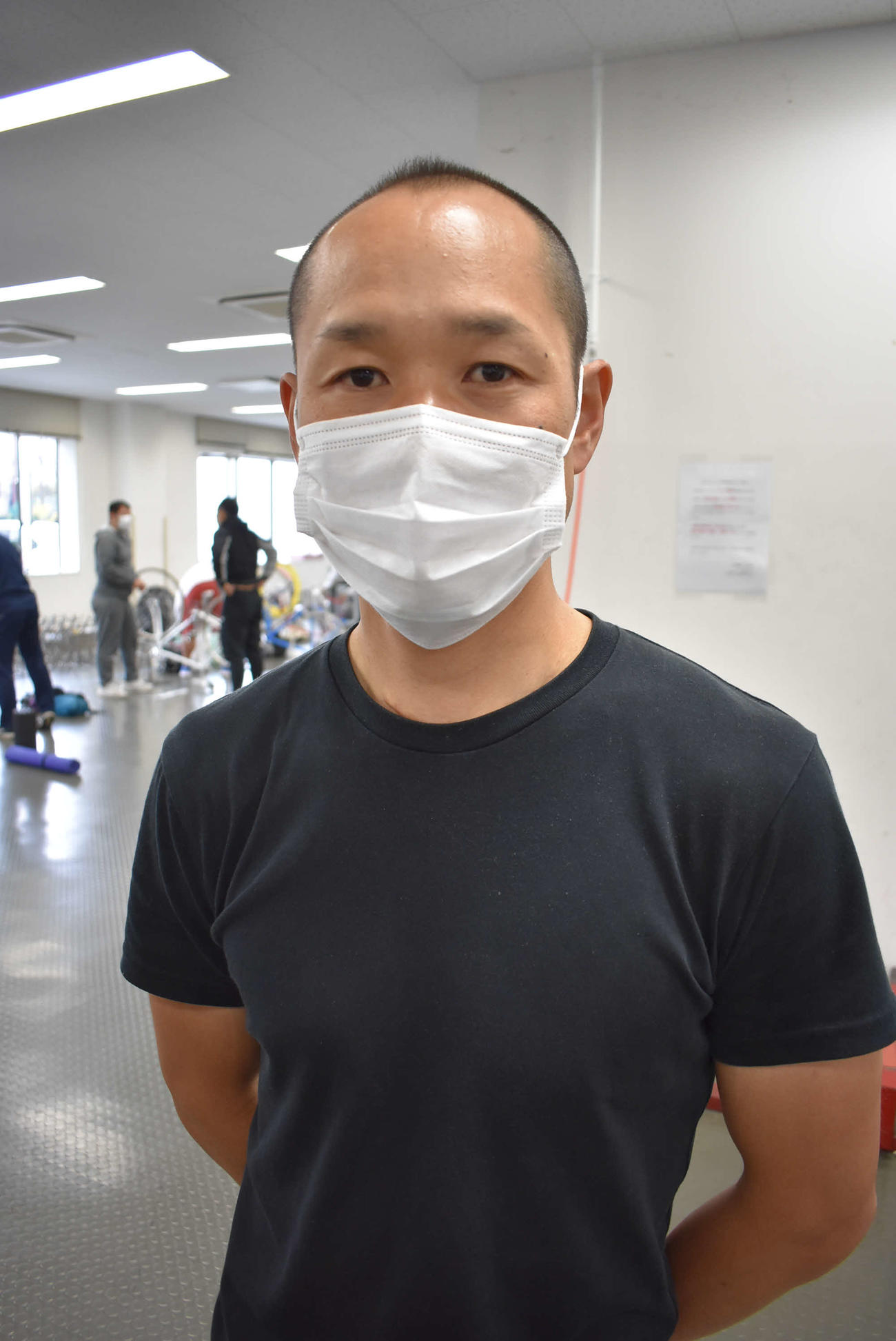 大病を乗り越えて中山健が1年3カ月ぶりに復帰