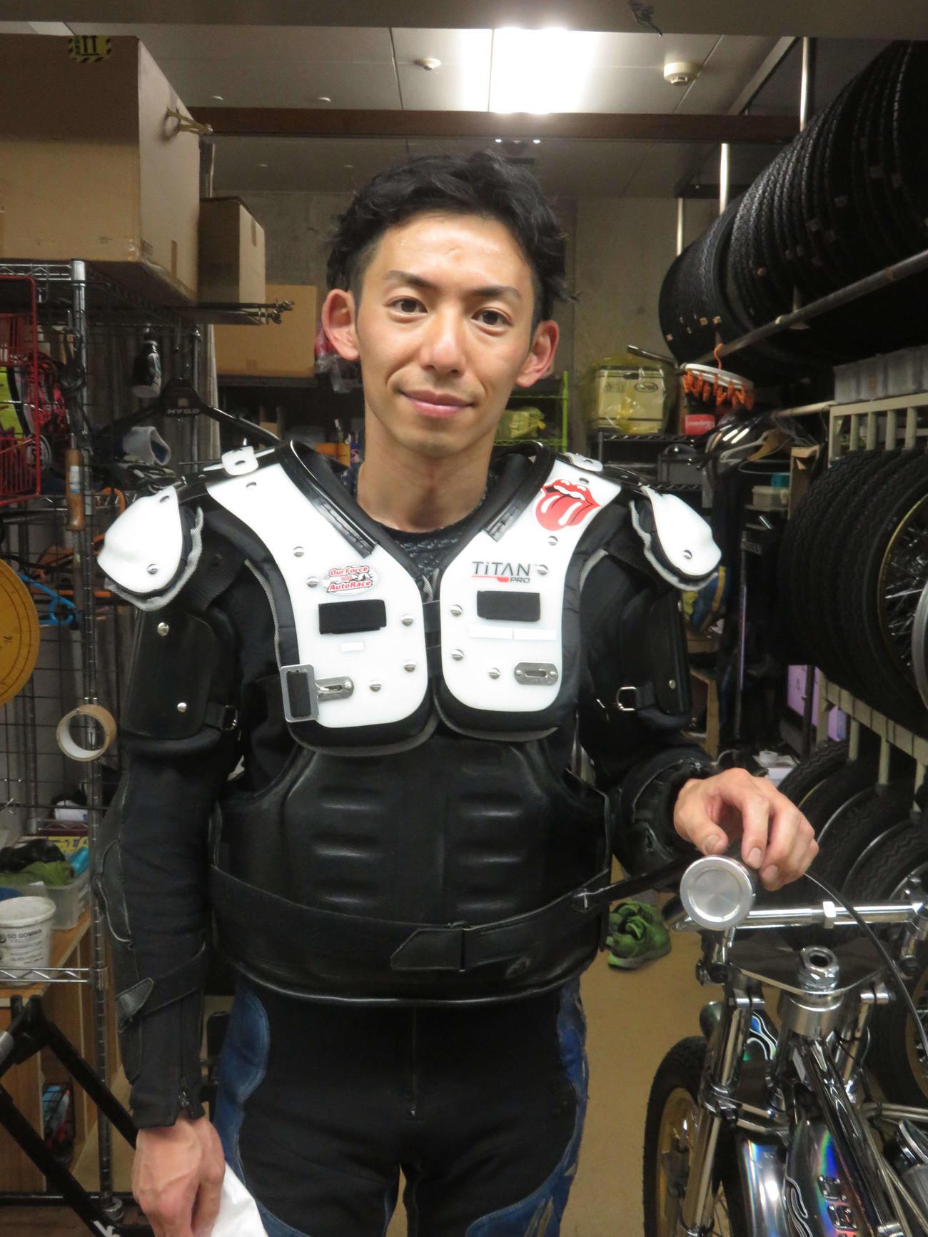 11年5月以来2度目の優勝を狙う君和田裕二