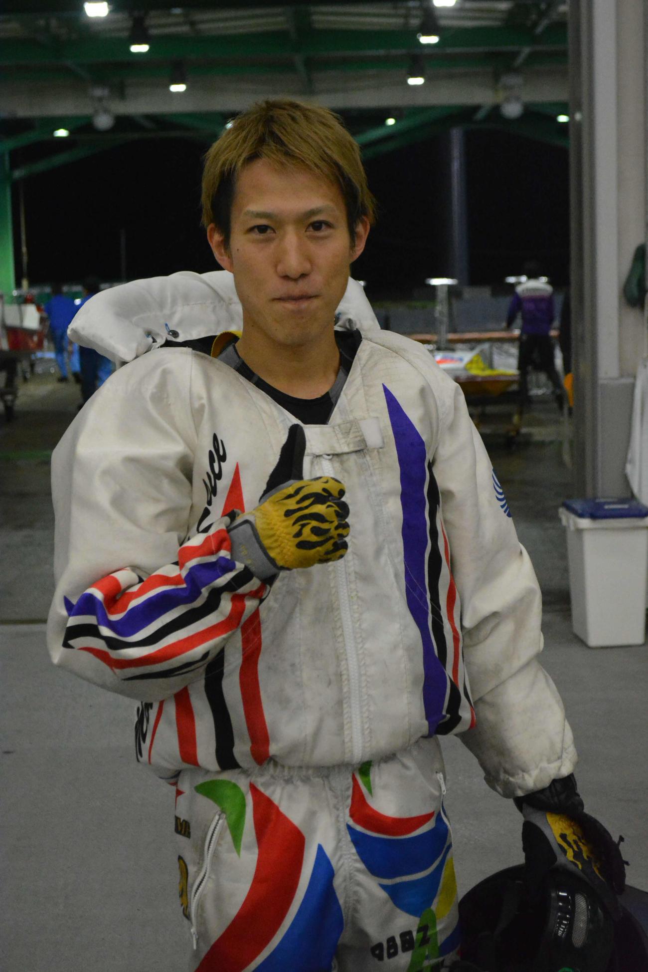 イン完封劇で通算4回目の優勝を飾った中田達也
