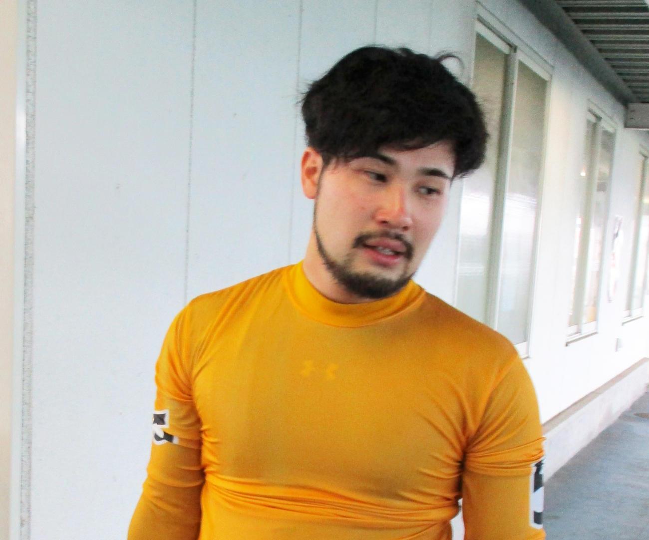 4Rで今開催初勝利を挙げ、引き揚げてくる久保田泰弘(撮影・岡田晋)