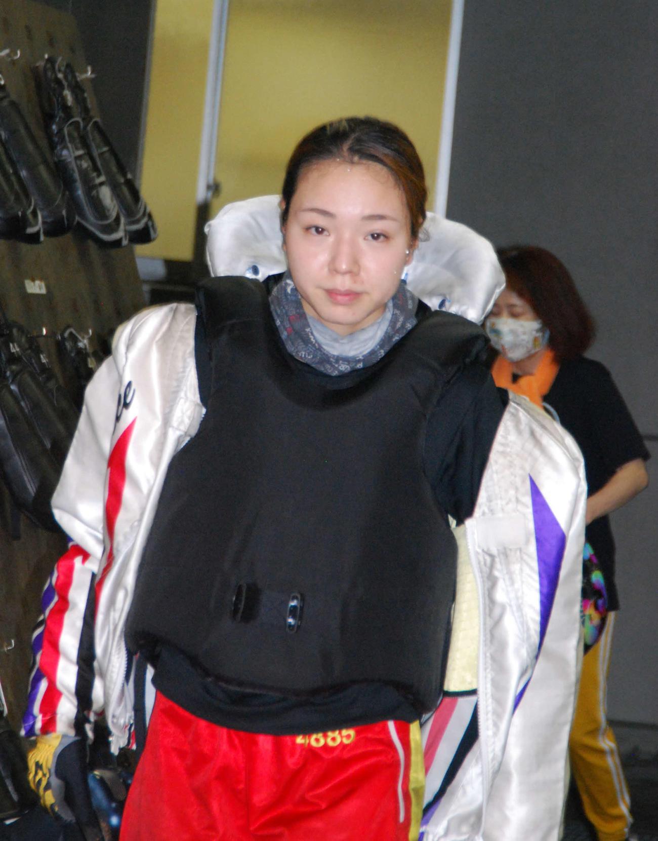 優勝戦で3場所連続Vを狙う大山千広(撮影・神田成史)