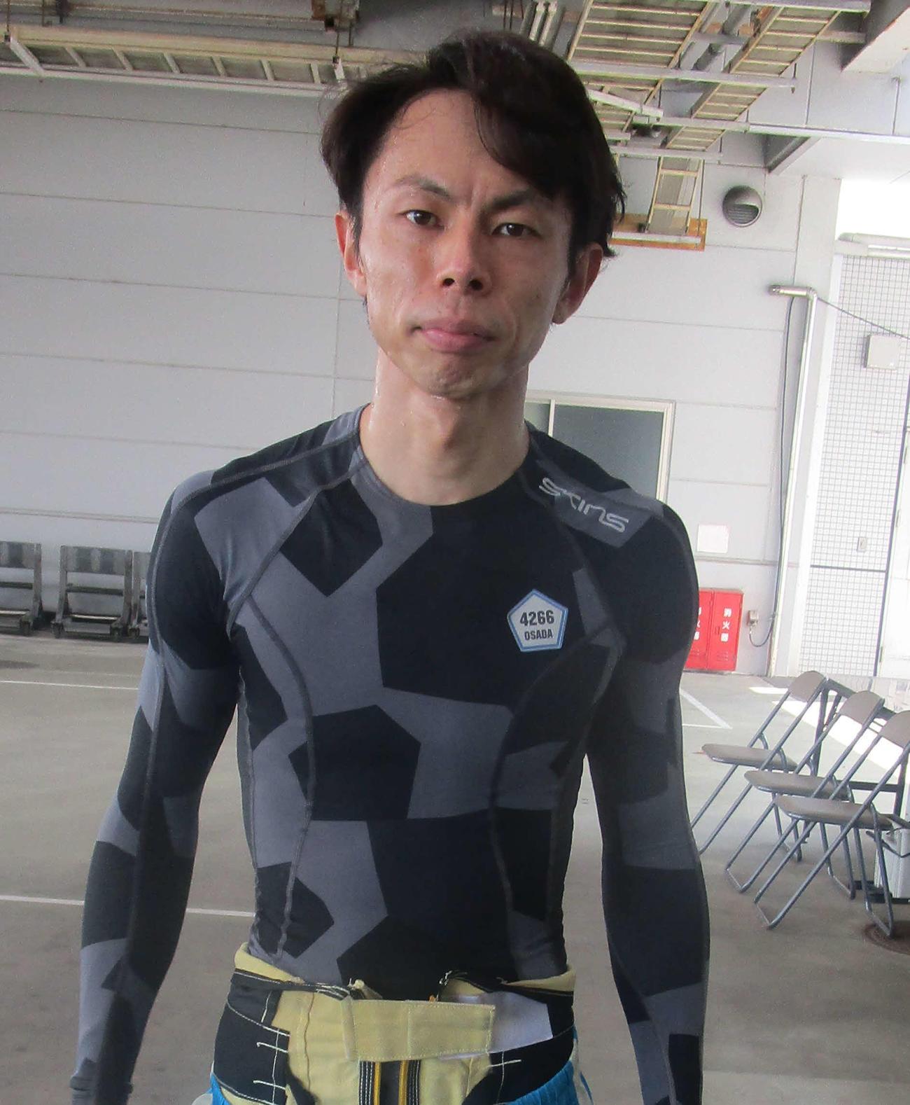 長田頼宗が3年連続でのびわこ周年優出を決めた(撮影・奈島宏樹)