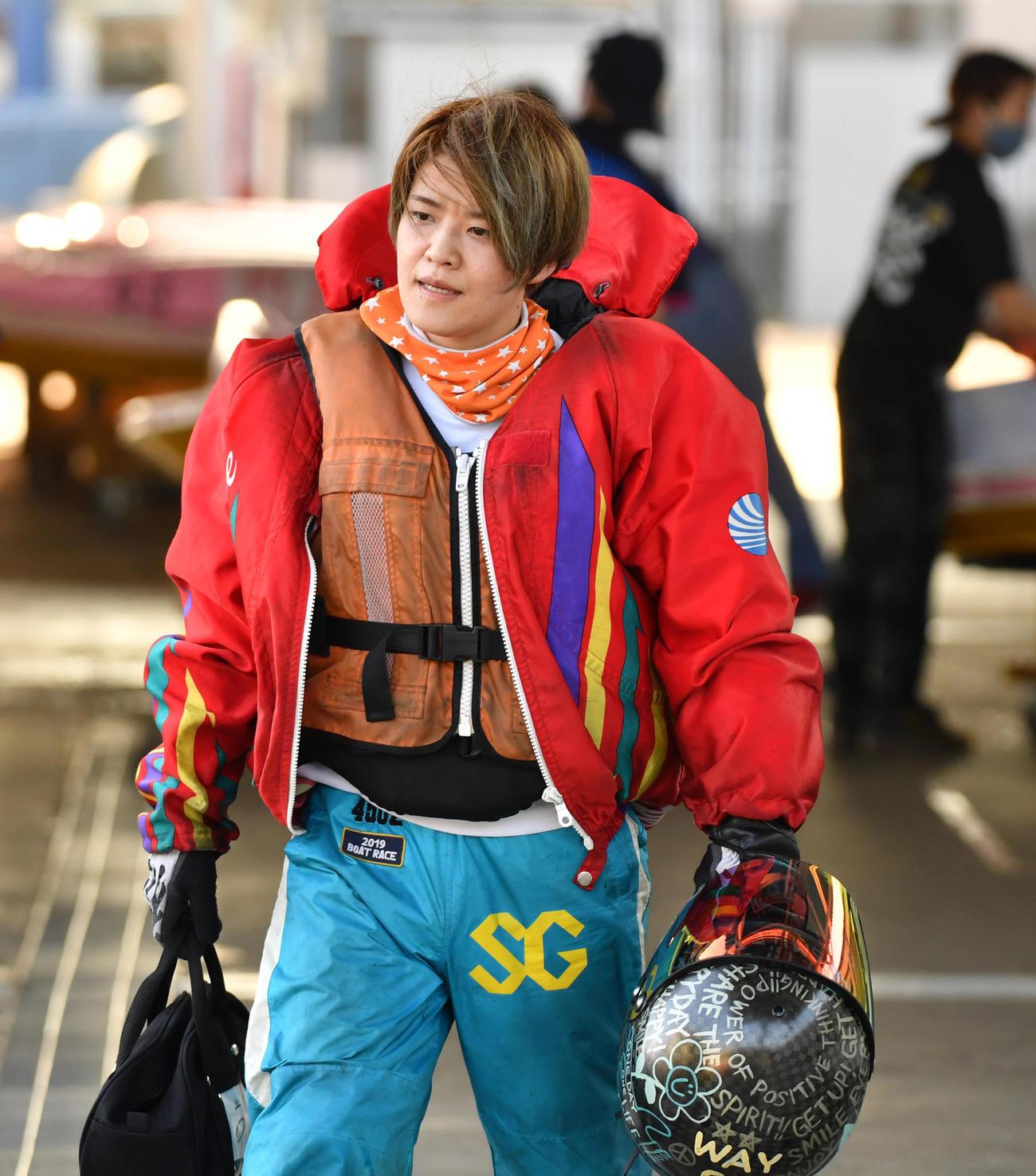 初日ドリーム戦で1着の遠藤エミ(撮影・柴田隆二)