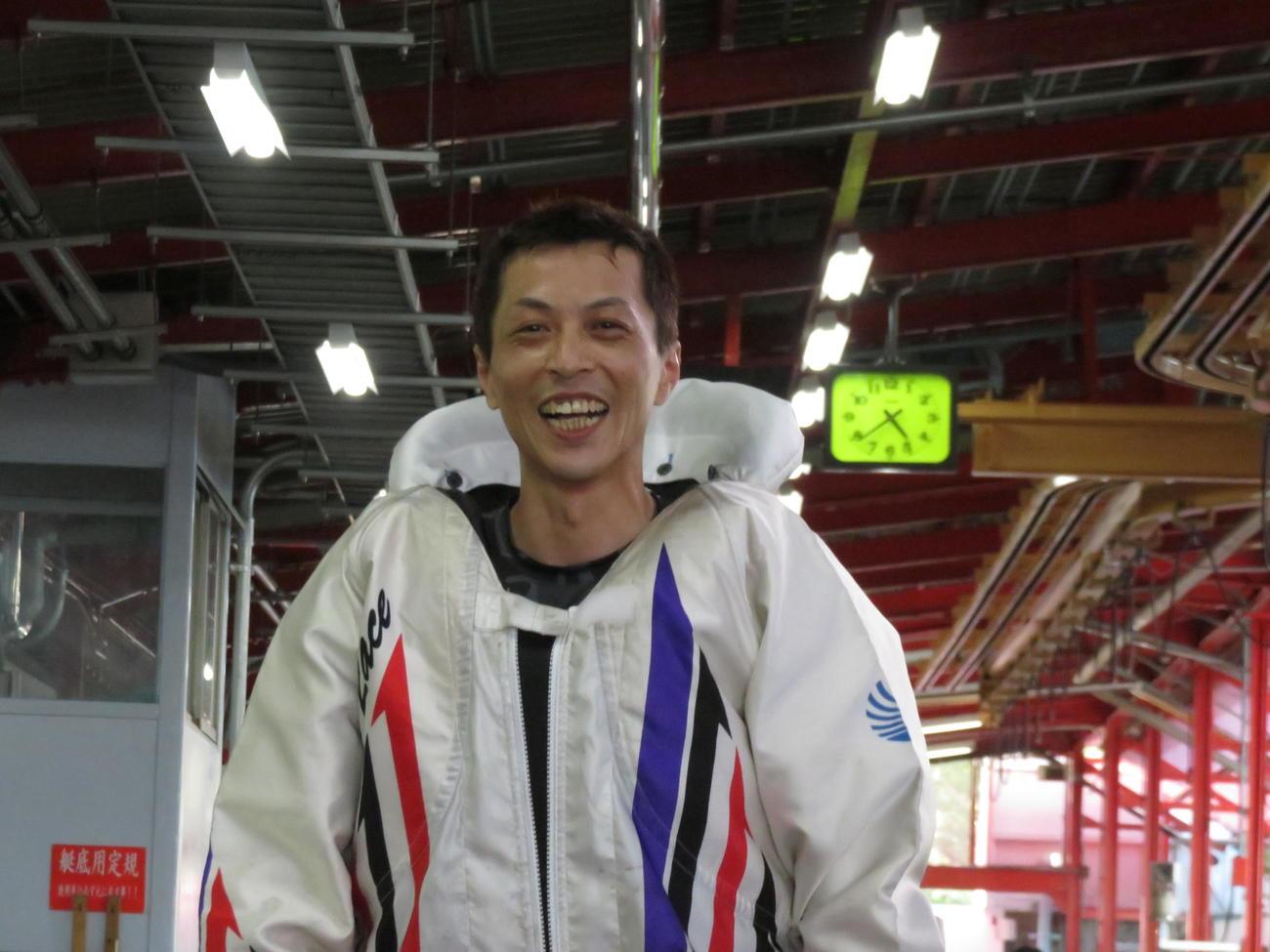 戸田9回目Vへ王手をかけた金田諭(撮影・窪寺伸行)