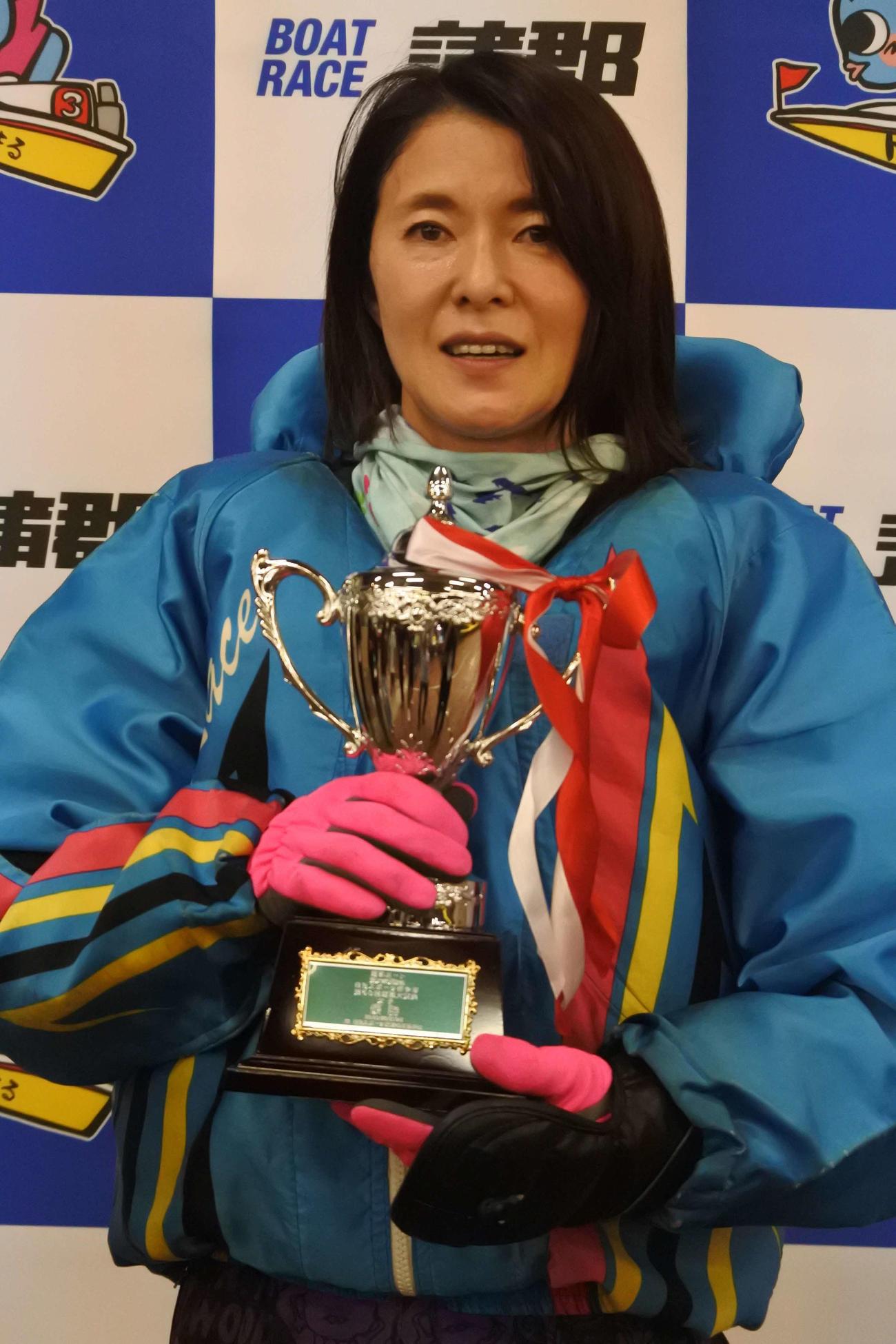 池田浩美が約3年4カ月ぶりに優勝を飾り、復活をアピールした