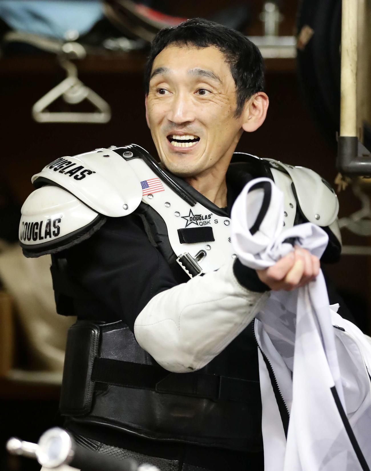 準々決勝Bを逃げ切った伊藤信夫(撮影・丹羽敏通)