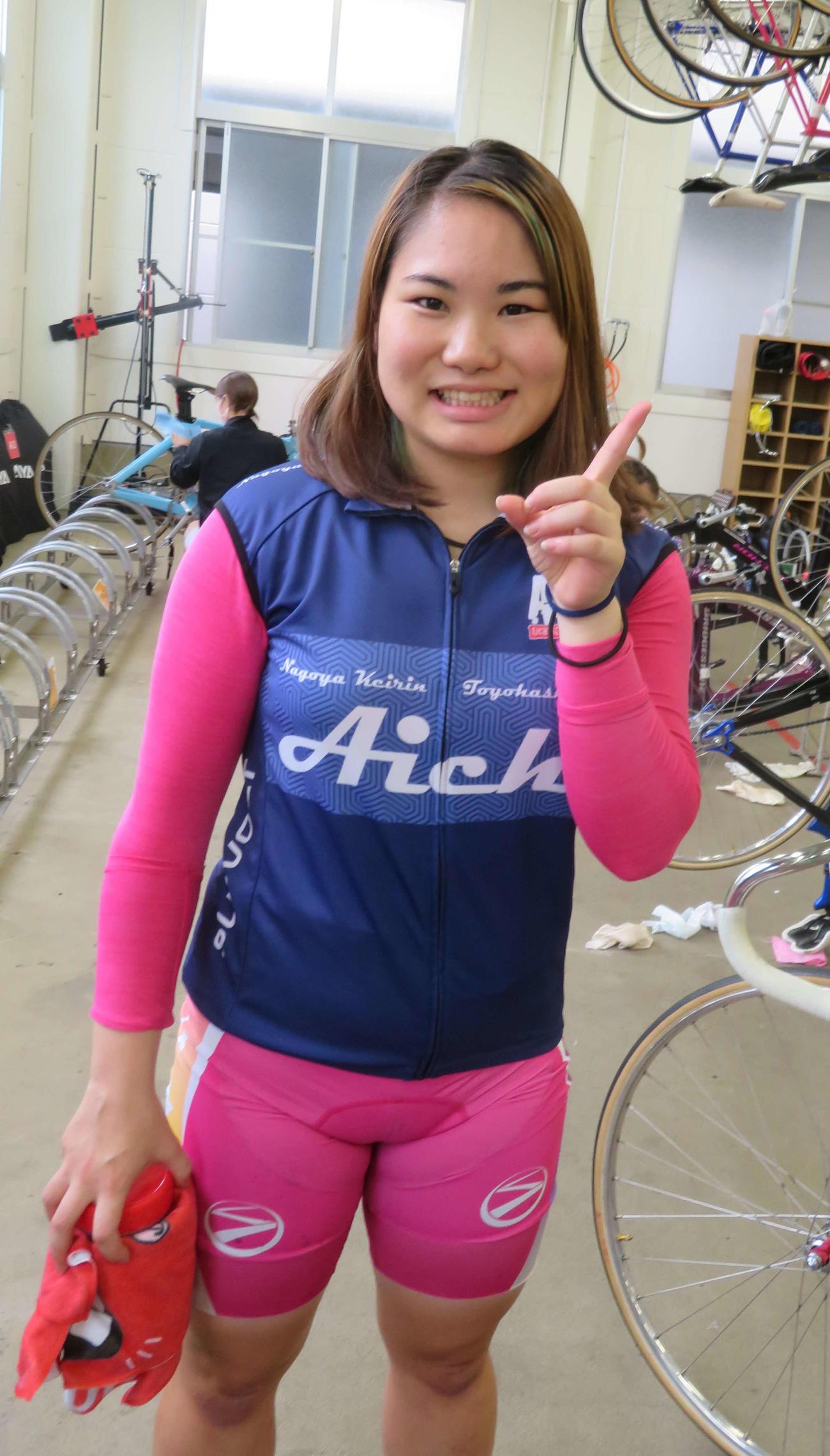 レース運びが俊敏な永礼美瑠が、3連勝で初優勝を狙う