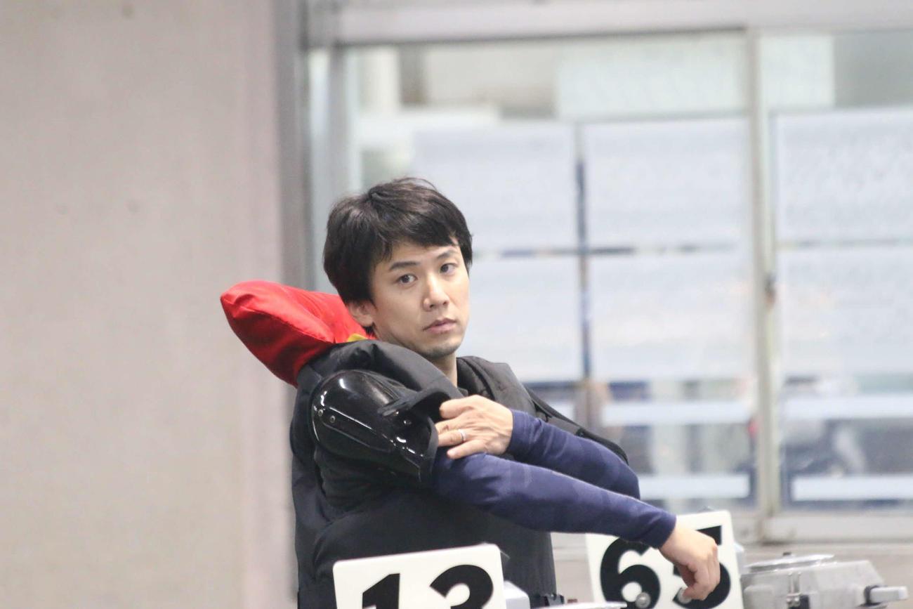 得点率6位の奈須啓太が準進1枠を目指し、8Rは伸びを生かして攻める