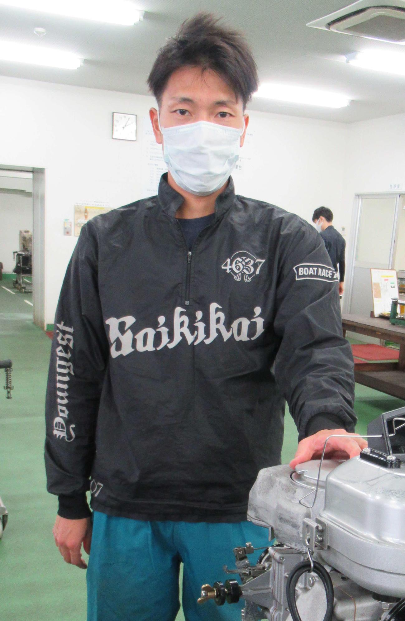 回り足の良さを武器に3連対発進した中田友也(撮影・奈島宏樹)