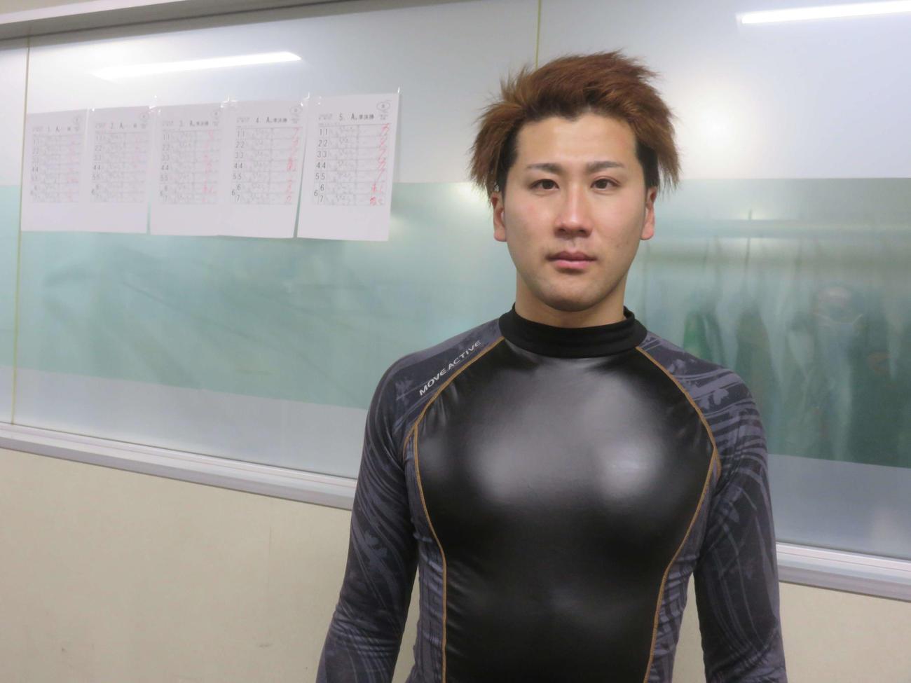 S級の予選で初めて勝利をマークした太田将成