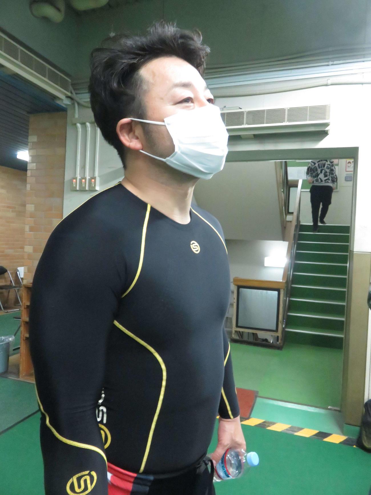 初の5車立てに苦笑いも開催続行を感謝した山崎芳仁
