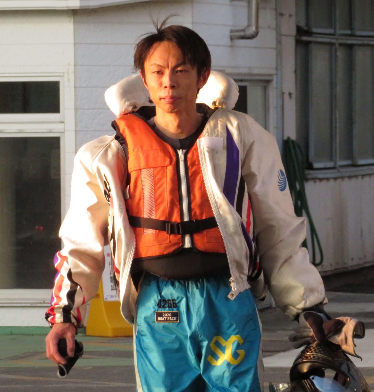 長田頼宗が2日目から5連勝で予選1位通過を決めた(撮影・古村亮)