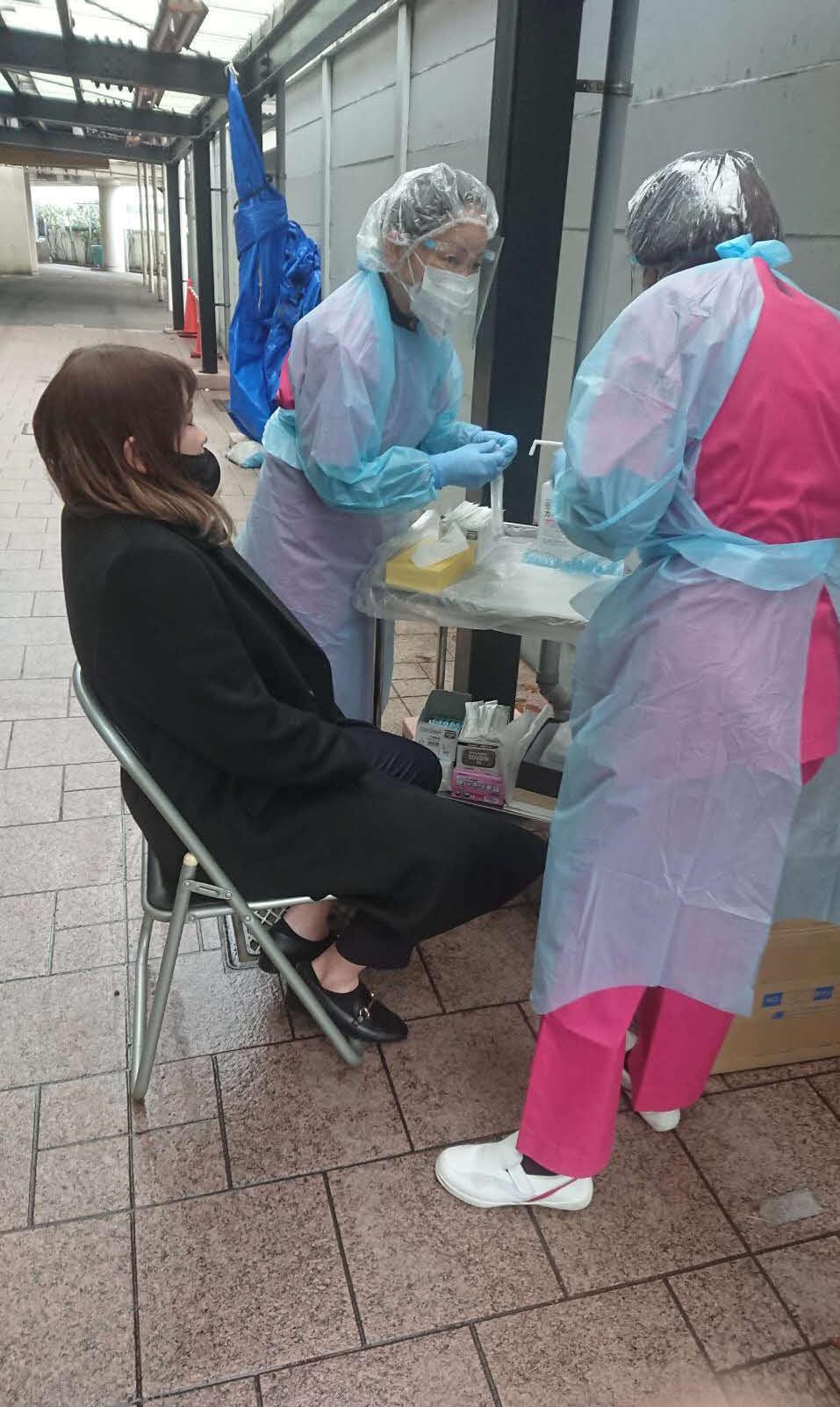 前検日の平塚では全ての選手、関係者の抗原検査が実施された(写真は尾方真生)