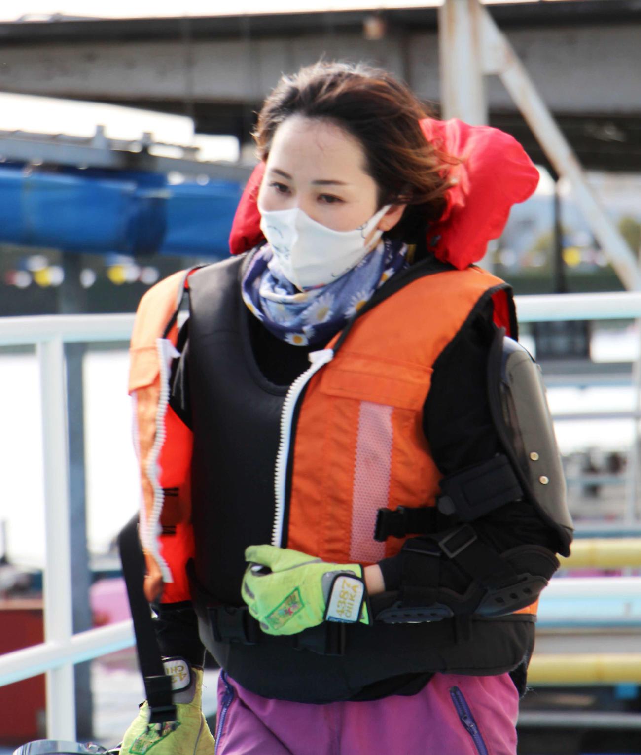 平山智加は昨年8月レディースチャンピオンで優勝して以来の多摩川参戦