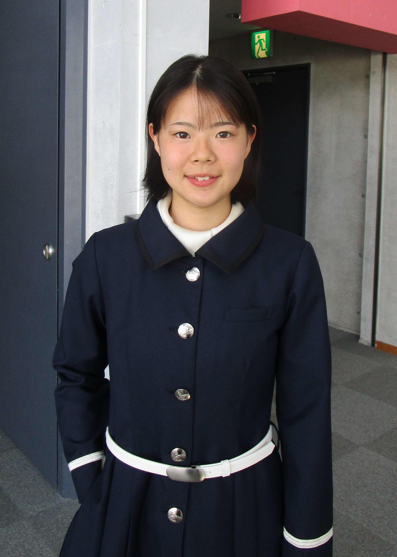 女子で唯一、養成所チャンプ決定戦に出場する米丸乃絵