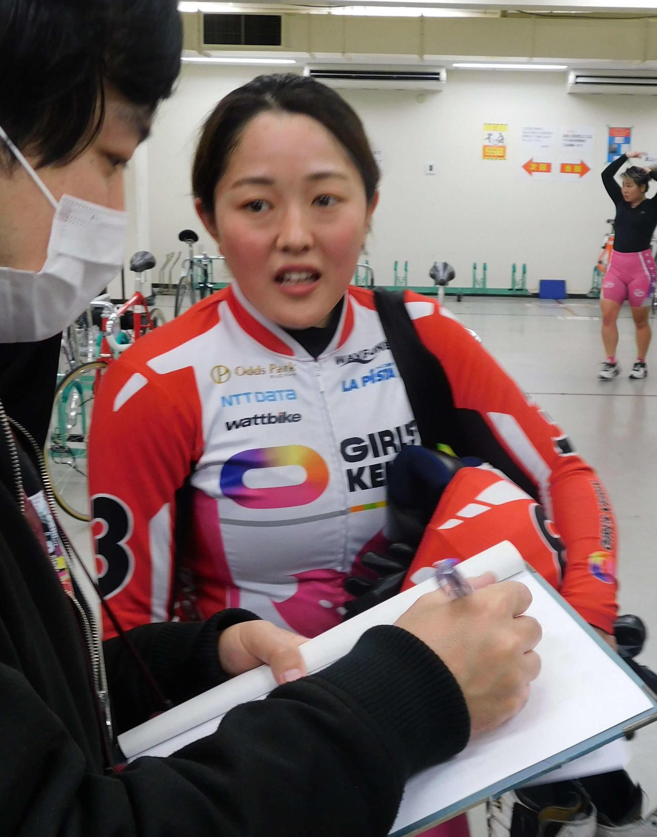 名古屋競輪 予1・6Rをまくりで制した増田夕華