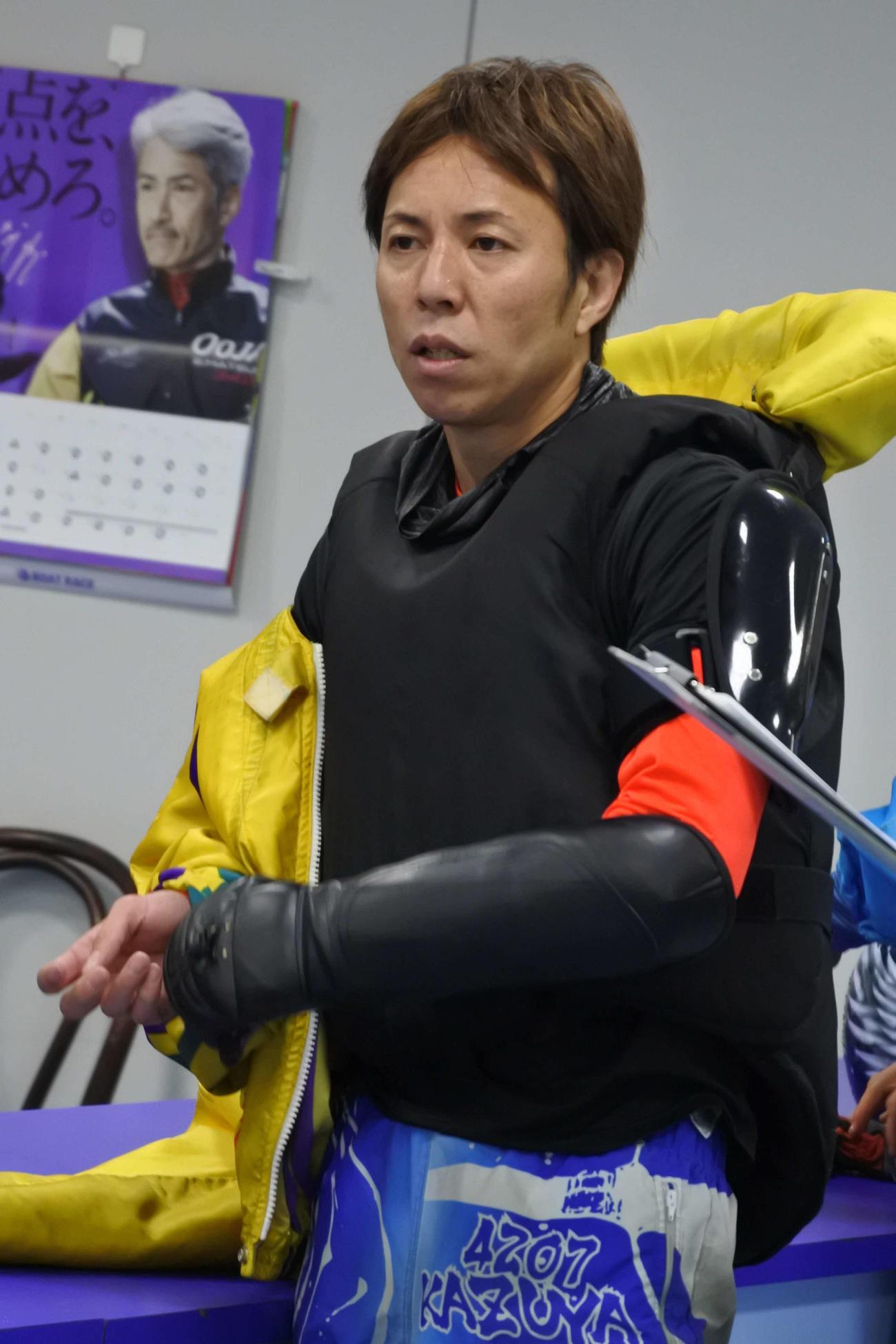 松下一也が2日目12Rでうれしい今節初勝利を決めた